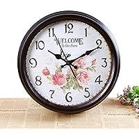 kinine Orologi da parete di stile europeo e creativo dell'orologio Inghilterra home Cafe orologio monobraccio decorativi orologi da parete di forma