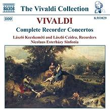 Vivaldi - Intégrale des concertos pour flûte à bec