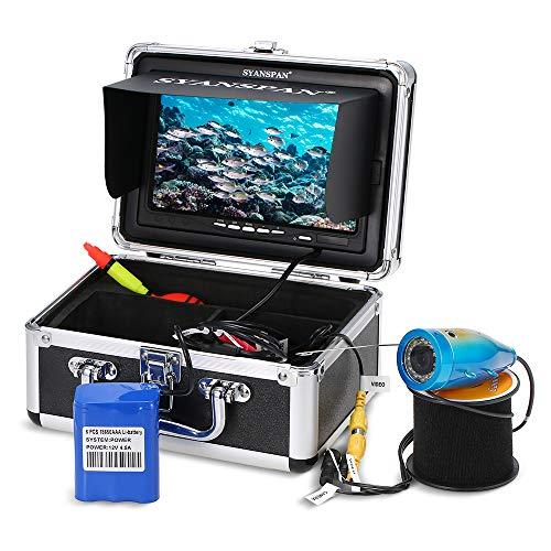 Godyluck Kit De Caméra Vidéo De Pêche sous-Marine,...