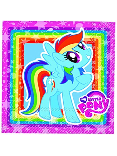 Generique - Serviettes en Papier My Little Pony 33x33cm