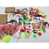 Fat-Catz - Assortiment Petits Jouets Cadeaux Pinata Fêtes Anniversaires Pochettes Surprises Enfants Garçon Fille x 35