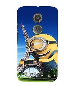 Ebby Premium Printed Mobile Mobile Back Case Cover With Full protection For Motorola Moto X2 (Designer Case)