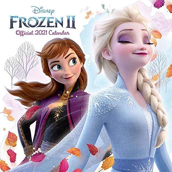 Disney Frozen Die Eiskönigin 2-2021 Wandkalendar Wall Calendar 50 Sticker