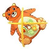 MagiDeal Baby Spielmatte Bettdecke Mit Spielbogen Musik Babybett - Tiger, wie beschrieben