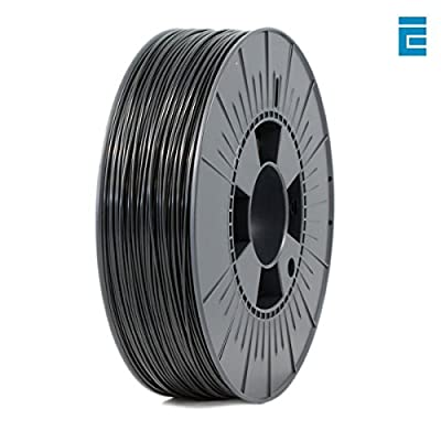 ICE FILAMENTS ICEFIL1ABS021 ABS Filament, 1,75 mm, 0,75 kg, Brave Black