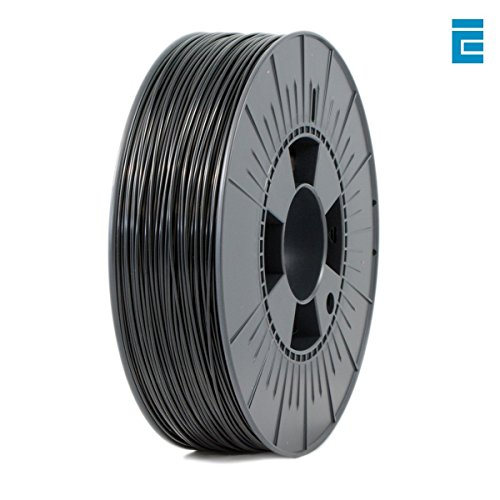 ICE FILAMENTS ICEFIL1PLA003 PLA Filament, 1,75 mm, 0,75 kg, Brave Black