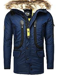 Manteau d'hiver Geographical Norway Homme des hommes FOURRURE