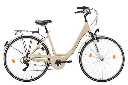KS Cycling Damen Fahrrad Paris RH 49 cm, beige, 28, 307C