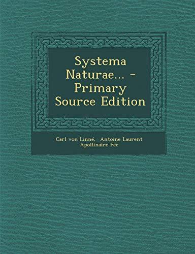 Systema Naturae...