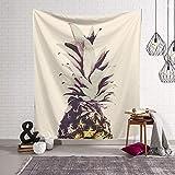 Tapisserie Animale Tapisserie d'ananas/Couverture Murale/Serviette de Plage 1 150x130