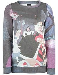 Walt Disney Alice im Wunderland - Garden Sudadera mujer estampado