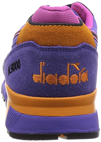 Diadora Unisex-Erwachsene N9000 Nyl Pumps, Mehrfarbig, taglia unica lila/orange/eis