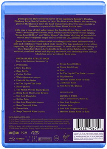 Queen-Live at The Rainbow '74 [Blu-Ray]