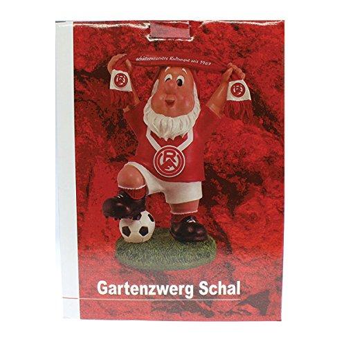 Rot Weiss Essen – Gartenzwerg Schal rot - 4