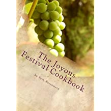 The Joyous Festival Cookbook: A Simple Menu Planner and Recipe book for the Jewish Holidays