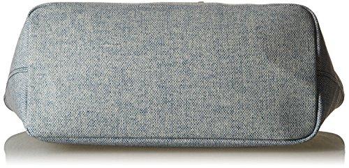 Timberland Tb0m5152, Borsa a mano Donna, 16.5x27.5x45.5 cm Blu (VINTAGE INDIGO)