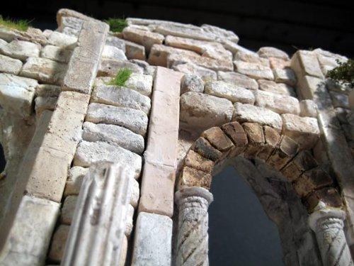 250 rechteckige Ruinen-Bausteine für Krippenbau und andere - 6