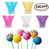 FiYenn 100x Cake Pop Sticks 15 cm