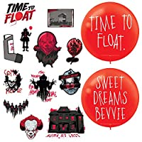 Amscan It Chapter Two Party Decorations Bundle | Balloons, Cutouts | Halloween Party, Horror House Supplies | Officially Licensed by Amscan