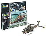 Revell 64956 - Modellbausatz Hubschrauber 64956 Set 1:72 - Bell AH-1G Cobra im Maßstab 1:72, Level 4, Orginalgetreue Nachbildung mit Vielen Details, Helikopter -