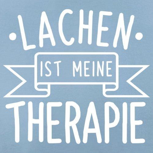 Lachen ist meine Therapie - Damen T-Shirt - 14 Farben Himmelblau