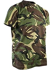 Combat Kids Military Style Cotton–Camiseta DPM Camo