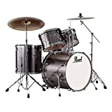 Exx 5-pcs drum set 2218b/1208t/1309t/1616f/1455s w/hw&cymb