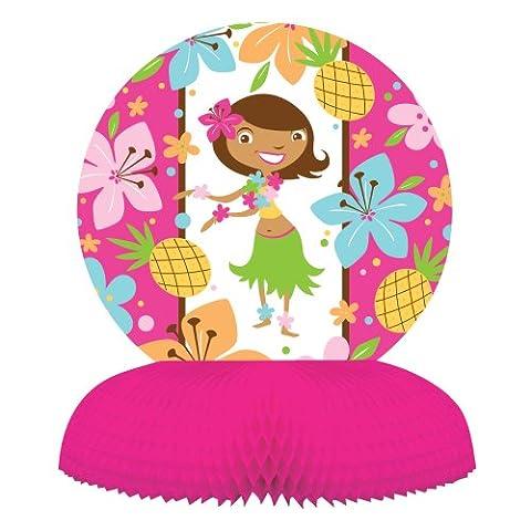 Pink Luau Fun Centerpiece,