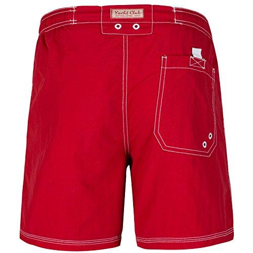 Brave Soul - Short de bain - Homme Rouge - Rouge