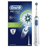 Oral-B Pro 600 CrossAction Spazzolino Elettrico Ricaricabile immagine