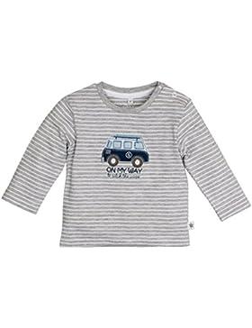 SALT AND PEPPER Baby-Jungen Langarmshirt Nb Longsleeve Racer Stripe