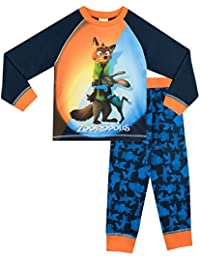 Disney Zootopie - Ensemble De Pyjamas - Zootopie - Garçon