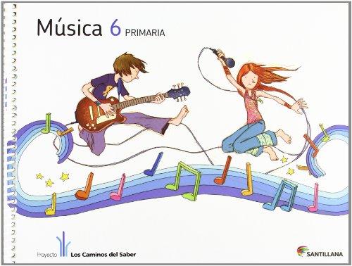 MUSICA + CD 6 PRIMARIA - 9788468009636 por Vv.Aa.