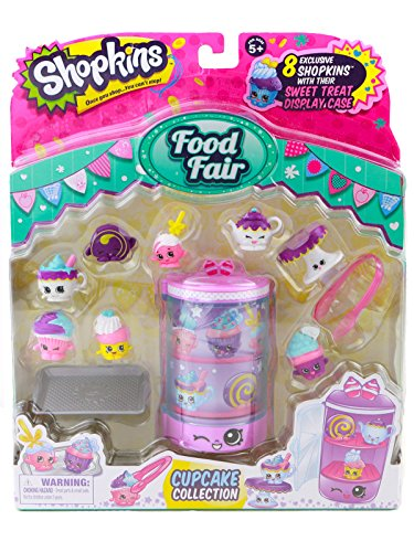 Shopkins Food Fair Cupcake Collection Toy Review [OV] (Fair Toy)