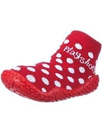Playshoes Aqua-Socke Punkte 174803 Mädchen Aqua Schuhe