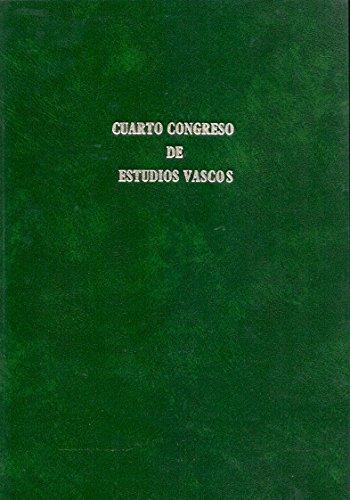 IV Congreso de Estudios Vascos / Recopilaci—n de los trabajos de dicho congreso... Vitoria... 1926