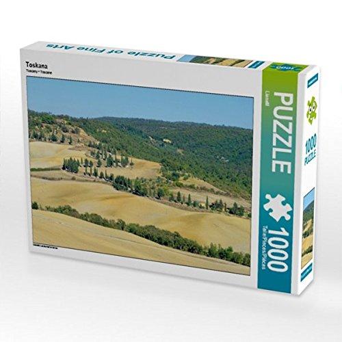 Toskana 1000 Teile Puzzle quer