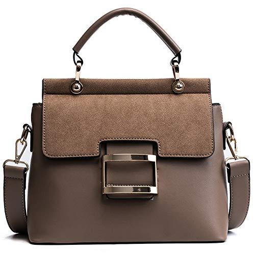 Umhängetaschen,Frauen Schultertasche,Damen Handtaschen Crossbody-Tasche,Mode Scrub Top-Griff Taschen,Weiblichen Freizeitaktivitäten Einfache Breite Gurt Messenger Bags Kleine Quadratische Tasch -