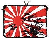 DIGITTRADE LS150-13 Bamboo Designer MacBook Sleeve Housse Pour Ordinateur Portable 13,3' (33,8 cm) Large Néoprène Pochette Sacoche
