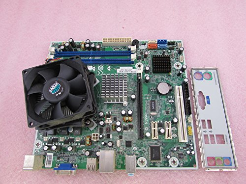 HP boston-gl6517069-001MSI ms-7525Mainboard + Pentium DC E53002,6GHz CPU + -