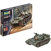 Revell Maqueta de Tanque 1: 72–T de 55a/Am en Escala 1: 72, Niveles 4, réplica exacta con Muchos Detalles, 03304