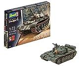 Revell Modellbausatz Panzer 1:72 - T-55 A/AM im Maßstab 1:72, Level 4, originalgetreue Nachbildung mit vielen Details, 03304