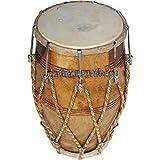Sai Musical Dholak Drum Rope Bolt Tuned Dholki Dhol Used In Bhajan Kirtan.