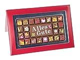 "Schokoladen Geschenkpackung ""Alles Gute"" 70g"