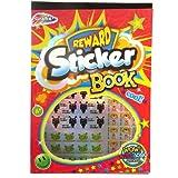 Kinder Belohnung Aufkleber Buch - Über 1000 Aufkleber - Vielzahl von Designs, Formen und Nachrichten - Größe 290mm x 205mm