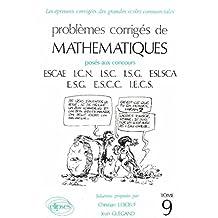 Mathématiques HEC 1986-1987, tome 9