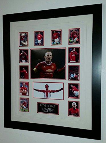 Wayne Rooney von Manchester United signiert Foto
