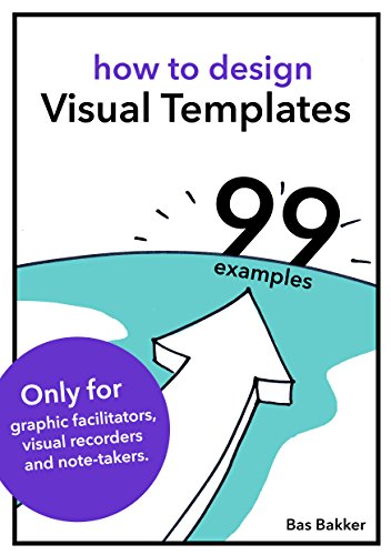 How to design visual templates and 99 examples (English Edition) por Bas Bakker
