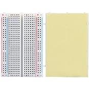 SODIAL(R) Steckbrett Breadboard Experimentierboard Steckplatine 400 Kontakte
