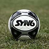 #3: Syn6 Excellent Match Football Size 5, Hand Stitched Ball Laminated With 4 Layers Of Polyester Cotton